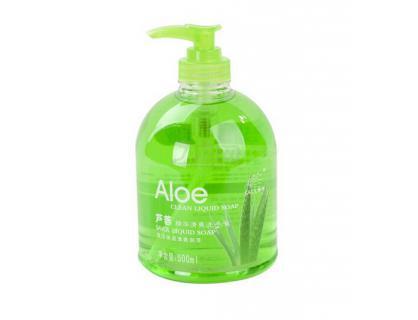 Étiquette pour l'assainissement de savon liquide